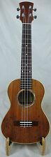 Alulu solid mahogany tenor ukulele, green abalone, sea fish pattern UMT100