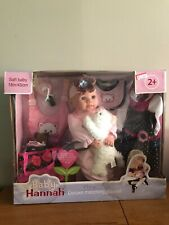 Baby Hannah Doll Deluxe Set BRAND NEW