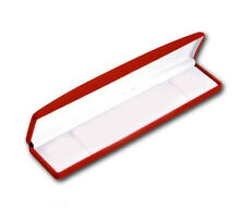 12 PCS CLASSIC VELOUR BRACELET BOX, RED