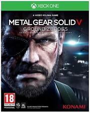 Metal Gear Solid V - Ground Zeroes For XBOX One (New & Sealed)