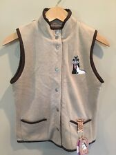 Horse Zens YOUTH Medium Reversible Vest New With Tags!