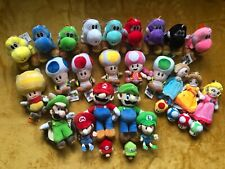 Super Mario Plush Teddy Toys - Choose from 35 Different Heroes Characters - UK