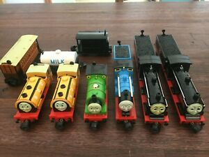 Lot of 9 Thomas & Friends BANDAI Tank Engines-Die-cast and Plastic- 1992/97