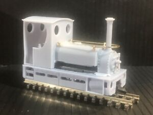 OO9 009 Cab Quarry Hunslet locomotive kit to fit onto a KATO 109 chassis