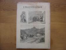 1895 aout 24 L'ILLUSTRATION 2739 Achat d'une commune par l'Etat Carillons Belgiq