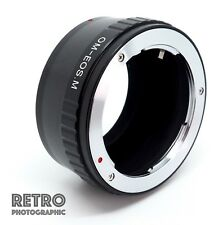 OM-EOS.M Olympus OM Lens to Canon EOS M Mount Adapter Ring - UK Stock