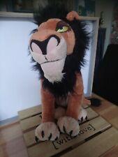 Peluche Scar roi lion 38 cm Disney Store