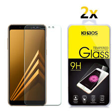 2-Pack Khaos For Samsung Galaxy A8 2018 Tempered Glass Screen Protector