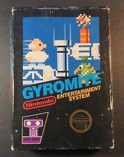 1985 Nintendo NES Gyromite Black Box Round Label Video Game CIB Hangtab Intact