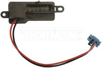 HVAC Blower Motor Resistor Front Dorman 973-007