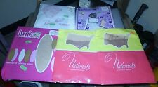 Power Model Seamless Nylons & 4 other vintage nylons size 10 1/2 & 11