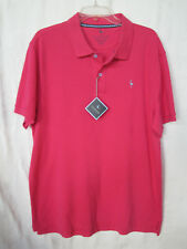TAYLORBYRD Mens Golf Shirt Size XL Short Sleeve FUCHSIA -Authentic