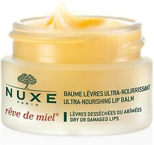 Nuxe Reve De Miel Ultra Nourishing Lip Balm With Honey For Dry Damaged Lips 15g