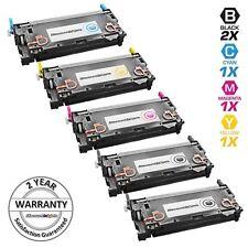 Reman Toner for HP 501A 502A Cartridge Q6470A Black & Color 5pk Set 3600 3600dn