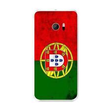 Coque Housse Etui HTC 10 à motif Silicone Gel qualité FR - Drapeau Portugal