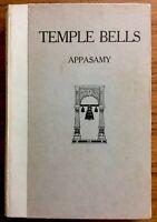 Beautiful 1931 TEMPLE BELLS Readings From Hindu Literature CALCUTTA Appasamy