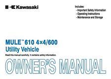 kawasaki mule 2010 service manual