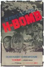H-BOMB Movie POSTER 27x40 Olivia Hussey Chris Mitchum Krung Savilai