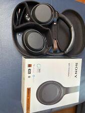 Sony WH-1000XM4 Bluetooth Kopfhörer - Schwarz - HD Noise Cancelling