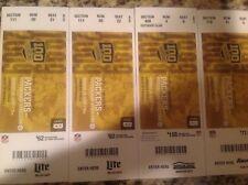 2018 Unused Green Bay Packers V.S Pittsburgh Steelers Aug.16 Ticket Stub