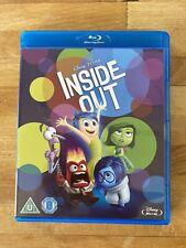 Inside Out - Disney Pixar Blu-Ray - Region Free - Kids Movie Blu Ray
