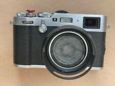 Fujifilm X100F 24.3MP Kompaktkamera - Silber