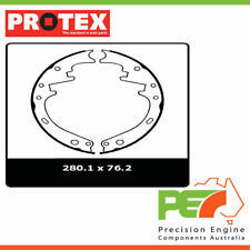 2x New *PROTEX* Drum Brake Shoes - Front For FORD F100 . 2D Ute RWD..