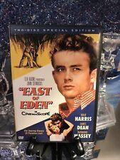 East of Eden In CinemaScope DVD 2-Disc Set SE Like New James Dean Classic Must