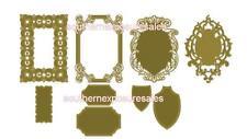 Anna Griffin® 9 Piece Cut & Emboss Die Set - Baroque Frame Brand New/Sealed