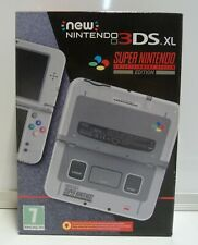 CONSOLE NINTENDO NEW 3DS XL SUPER NINTENDO SNES LIMITED EDITION PAL NEW