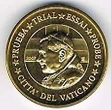 Vaticaan 2007 (Gr) probe-pattern-essai - 10 eurocent - Paus Benedictus XVI