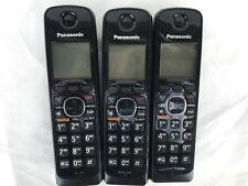 3-PANASONIC KX-TGA660B DECT 6.0  CORDLESS HANDSET FOR KX-TG6641 & KX-TGA660 ,