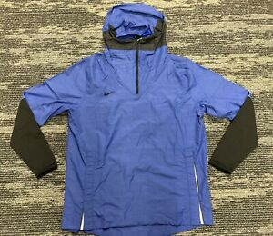 Nike TEAM Football Lightweight Player Pullover 1/4 Zip Jacket Men's Size L