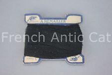 C1137 Antique thread card CASTOR beaver FIBRANNE a remailler  3 gram black