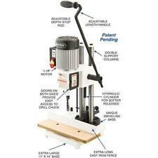 Shop Fox W1671 3/4 HP 3,450 RPM Heavy Duty Chisel Mortising Machine (New in Box)