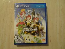 Brand New Digimon Story: Cyber Sleuth (Sony PlayStation 4, 2016) PS4
