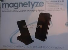 Magnetyze Extended Battery Magnetic Charging System for Apple iPhone 4 and 4S