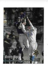 1999 STADIUM CLUB CHROME NFL FOOTBALL BASE CARD RANDY MOSS LOT OF 10,VIKINGS