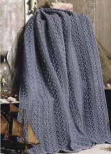 Crochet Pattern ~ VINTAGE DENIM AFGHAN ~ Instructions
