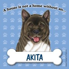 A House Is Not A Home Without An Akita Fridge Refrigerator Magnet - New