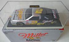 New Rusty Wallace 1996 Miller & 1997 Miller Lite 1/24Diecast Black Window Banks