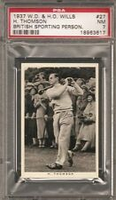 ~ 1937 Will's Cigarettes ~ HECTOR THOMSON ~ PSA 7 ~
