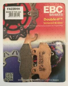 EBC Sintered REAR Disc Brake Pads Fits TRIUMPH TIGER 1200 / 1215 (2016 to 2021)