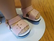 Pink Sandals - that fit Wellie Wisher Wishers Dolls - #483