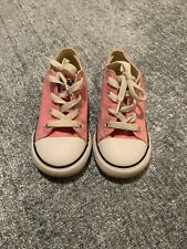 Toddler Pink All Star Converse sneakers Size 10