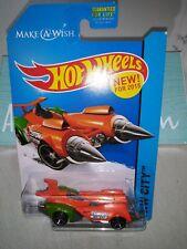 2015 Hot Wheels Hw City #41/250 Ollie Rocket Hw Space Team 35th Make A Wish