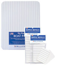 "NEW MILLSTREAM RIPPLE FOAM BOAT FLY PATCH 12""x15""  fishing adhesive raft drifty"