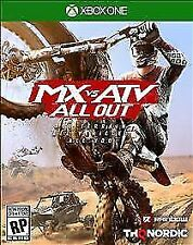 MX vs. ATV All Out (Microsoft Xbox One, 2018) NEW Motocross Sports Racing Game