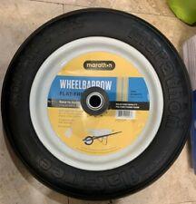"Marathon Wheelbarrow Flat Free Tire 3.50 / 2.50 X 13"" -14"" Diameter Range"