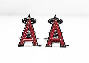Anaheim Angels Cufflinks MLB Baseball Los Angeles Angels of Anaheim